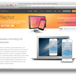 iPhone・iPadの画面をOS Xでミラーリング表示 -Reflector-